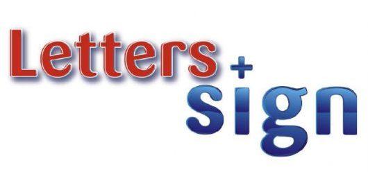 Letters en Sign